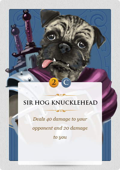 Sir Hog Knucklehead
